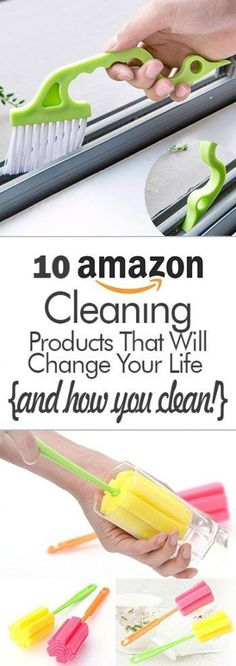 10 Amazon Cleaning Products That Will Change Your Life {And How You Clean!} #clutterhacks