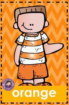 Color Worksheets For Preschool, Preschool Coloring Pages, Preschool Colors, Classroom Posters, Classroom Themes, Preschool Family, Color Games, Teaching Materials, Class Decoration