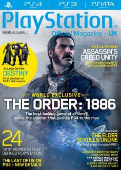 Official #PlayStation Magazine 97. Read about 2014 fifa world cup brazil, octodad: Dadliest catch and much more...