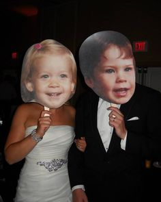 Build-A-Head makes the best, high quality and most affordable Big Head Cutouts. Make Your Own cardboard or foam Wedding Big Heads. Perfect Wedding, Our Wedding, Dream Wedding, Trendy Wedding, Wedding Venues, Awesome Wedding Ideas, Wedding Reception, Wedding Officiant, Wedding Games