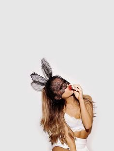 Ari's looking sexy & cute #strawberries #ArianaGrande #Ariana #Grande #Ari #Myeverything #Yourstruly #Moonlight #bae #perfection #goddess #queen #A