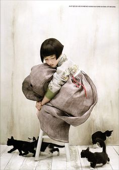 Kim Kyung Soo for Vogue Korea.