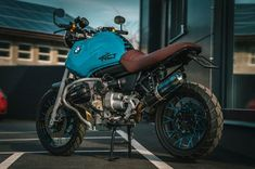 """Blue Hunter"" #1 - National Custom Tech Motorcycles"