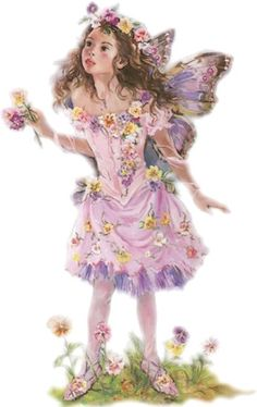 ≍ Nature's Fairy Nymphs ≍ magical elves, sprites, pixies and winged woodland faeries - lavender fairy