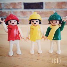 #playmobil #토이그램 #플레이모빌 #kid #red #yellow #green #love #collector #color #hat 초록색 목도리 갖고 싶당