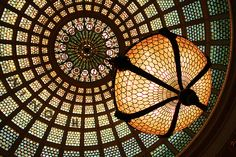 Tiffany Glass Dome in the Chicago Cultural Center