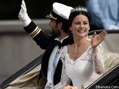 زفاف ملكي أمير السويد كارل فيليب وصوفيا