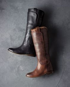 Frye Paige Riding Boots!!! Gotta get me some!!