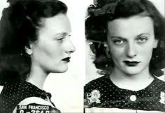 1940S Mugshots | Streetwalkers of San Francisco
