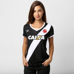 Camisa Feminina Umbro Vasco I 14/15 s/nº - Gigante da Colina