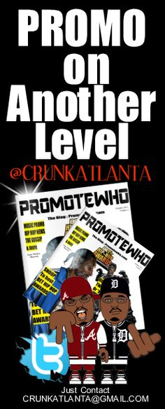 "Promotewho - October 2013 Promotewho Music Promo & Hip Hop News with a lil Gossip on top. Includes a section with the honey's of ""Shakinit.com"" - Kandy Kash and more. To be featured- just contact: Crunkatlanta@gmail.com ( fee required)"