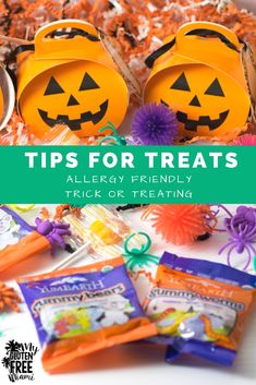 Trick or treating should be fun for everyone. Use these tips for allergy friendly trick or treating that doesn't leave anyone out! via @glutenfreemiami