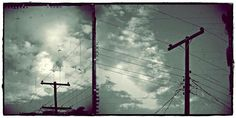 Clouds And Power Lines Photograph by Patricia Strand