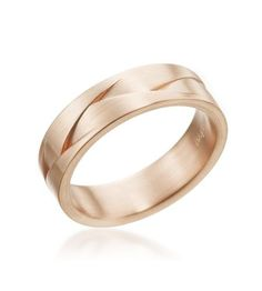 This would look awesome in gold and sliver for Jake.  Furrer-Jacot - Les Magiques 18K Red Gold Braided Men's Band
