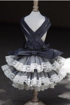 Miss Coco Puffz Petticoat Doggie Day Dress
