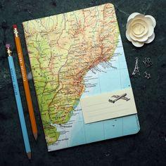 Reise-Geschenk REISETAGEBUCH Südamerika Brasilien Rio de