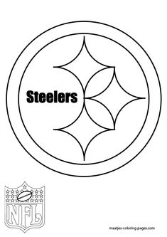 NFL Pittsburgh Steelers Stencil | Pittsburgh steelers logo ...