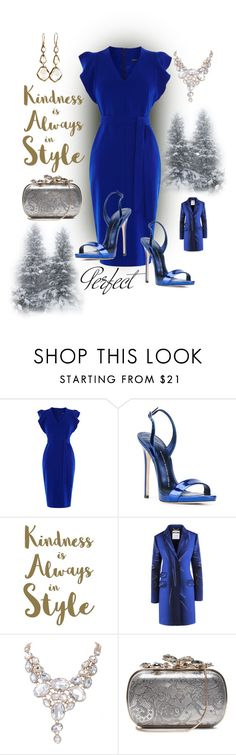 """""""Untitled #845"""" by belinda54-1 ❤ liked on Polyvore featuring Karen Millen, Giuseppe Zanotti, Sixtrees, Moschino, Tag, Nina Ricci and Ippolita"""