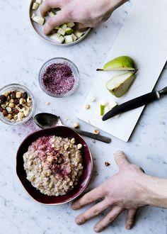 Tasteful porridge from #GRØD in Torvehallerne in #Copenhagen @ChrisTonnesen