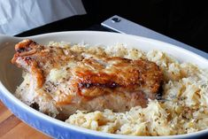 Best Ever Pork Roast and Sauerkraut Ring in the New Year with THE BEST Pork and Sauerkraut recipe! Juicy and packed with so much flavor! Pork Recipes, New Recipes, Crockpot Recipes, Dinner Recipes, Cooking Recipes, Healthy Recipes, Sausage Recipes, German Recipes, Healthy Food