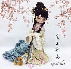 FIGURAS ORIENTALES EN CRO muñecas orientalesCHET ¡¡No pueden ser más lindas ni estar mejor hechas!! Cada vez que veo una de éstas figuritas, me dejo llevar por ...