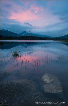 ☀Vermilion Lakes Banff National Park~ Morning Whisper by Dani-Lefrancois.deviantart.com*
