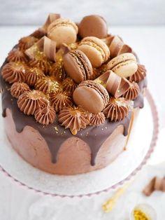 chokladiga choklad- och kolatårtan. Jag kände knappt resten av gästerna, än m