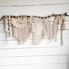 This listing is for a custom macrame wall hanging in the style pictured above, 30-40 inches wide. I will communicate with the buyer and create a large one-of-a-kind macrame wall hanging. Production time is 2-3 weeks. These one of a kind macrame pieces make beautiful wall hangings. They can also be used as a decor piece for your special event, wedding ceremony backdrop or photo booth backdrop. *Florals and backdrop stand pictured are not included.