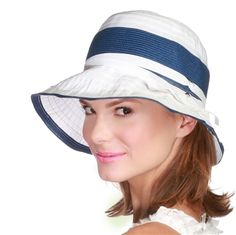 36820866729 Belle Epoque Ribbon Straw Sun Hat by Physician Endorsed