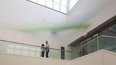 """Landscape Abstracted @ MFA Boston - video of """"pivot green blue"""" — Anne Lindberg"""