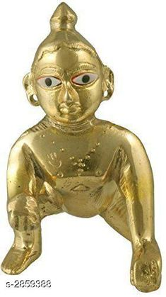 Pooja Needs Decorated Religious Item Material: Brass Size: 3 in Description: It Has 1 Piece Of Gopal Krishna Idol Country of Origin: India Sizes Available: Free Size   Catalog Rating: ★4.3 (431)  Catalog Name: Essential Decorated Religious Items Vol 4 CatalogID_388357 C128-SC1315 Code: 052-2859388-