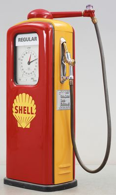 Ljungmans Petrol Pump - Shell Oil Company