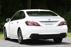 これはヤバイ!トヨタ 新型「クラウン」はハイパワーユニット搭載でスポーツセダンに進化 | くるまのニュース Toyota Crown, Lexus Cars, Crown Royal, Love Car, House, Home, Haus, Houses
