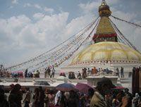 Baudhhanatha Stupa at Kathmandu  http://www.nepalmotherhousetreks.com/manslu-trekking-with-nar-phu-valley.html