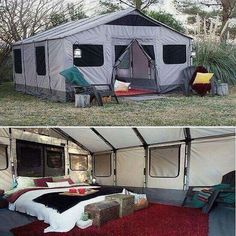 Would be the best camping getaway yet.