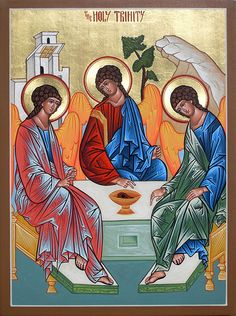 holy trinity icon by matthewdgarrett