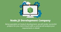 #Codebrahma - an esteemed #nodejs #development #company in the #USA has extensive experience in providing best in class solutions in the field of UX design, web app development and mobile app development using node.js - popular server-side javascript run-time environment.