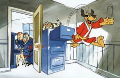 HONG KONG PHOOEY & The GANG PRINT Hanna Barbera | eBay