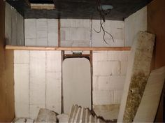 """use closed cell foam insulation / construction adhesive or have sprayed in. 4"""""""