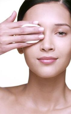 Apply a cotton pad soaked in make up remover to your eyelids for 10 seconds to best remove make up
