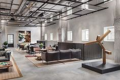 Blique by Nobis: A Contemporary Hotel in Stockholm – Warehouse Home Bed Factory, Brown Headboard, Square Windows, Warehouse Design, Lobby Lounge, Hotel Lounge, Hotel Lobby, Rooftop Bar, Hotel Reviews