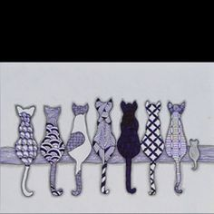 Zentangle Cats and One Mouse love this for an art project