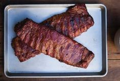 Ribs with Spicy Bourbon Barbecue Sauce