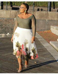 BN Style Your Curves: Mangu of 'Original Mangu' from Zimbabwe is an Absolute #BellaStylista! - BellaNaija