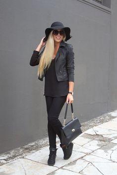All Black { OOTD }