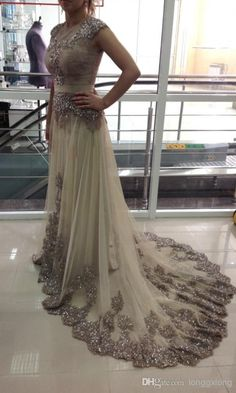 Discount Real Image Celebrity Dress Lace Tulle Evening Gowns Floor Length Arabic Dresses Vestidos Sexy Prom Dresses Online with $131.94/Piece | DHgate