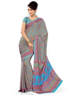 #Zara sarees - Latest art designer silk sarees from #Ethnic Queen.  FREE SHIPPING | EASY RETURNS | CASH ON DELIVERY !!!  Shop here: http://www.ethnicqueen.com/eq/sarees/zara/