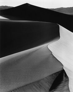 Ansel Adams Sand Dunes, Sunrise Death Valley National Park, CA 1948 National Parks