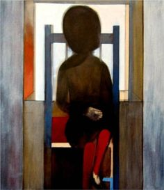Paintings - Charles Blackman - Page 5 - Australian Art Auction Records Australian Painters, Australian Artists, Alice In Wonderland Series, Arthur Boyd, Picasso And Braque, Henry Thomas, Unusual Art, Art Database, Modern Artists