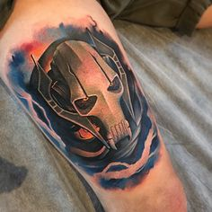 Tattoo of Grievous from Star Wars by Benjamin Laukis | Intenze ink